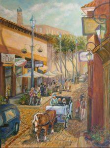 Aviles Street, 40x30, Acrylic, $1200